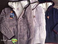 Кофта вязанная для мальчиков от 5 до 8 лет, фото 1