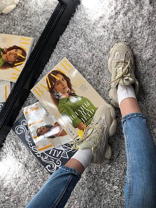 Только размер 42 и 44 !!!! Мужские кроссовки Yeezy Boost 500 UTIBLK/ реплика (1:1 к оригиналу), фото 2