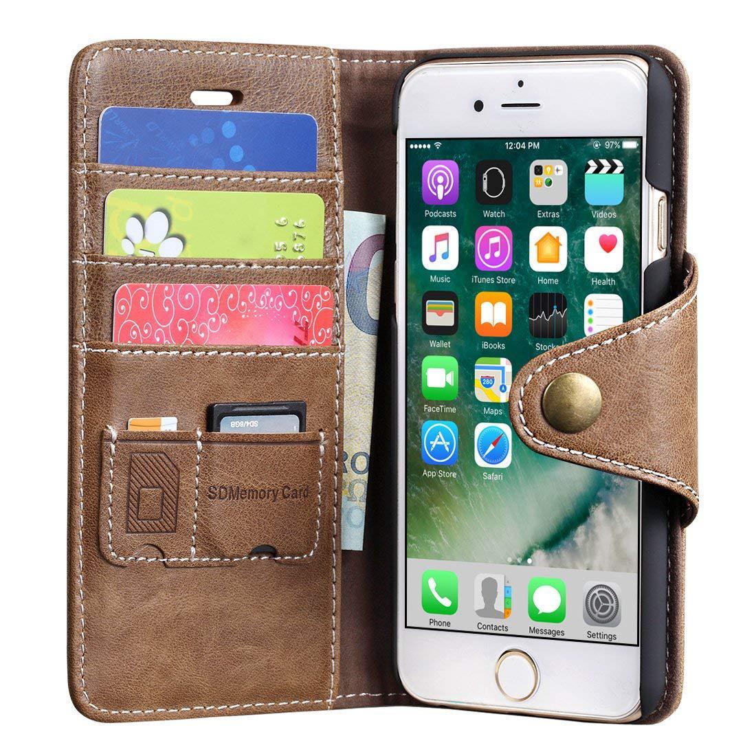 "Чехол кошелек case SHEROX для iPhone 7 iPhone 8 (4.7"") натуральная кожа"