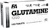 Fitness Authority Glutamine 1250, 120 tabs