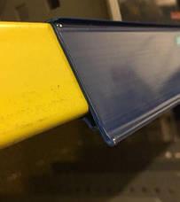 POS ценникодержатели стеллажные, держатели ценников LS-39 для стеллажей 1235мм, фото 2