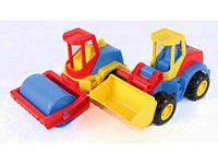 """Авто """"Tech Truck"""" (каток, экскаватор) 39476"""