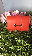 Жіноча сумка з натуральної шкіри на пояс, фото 1