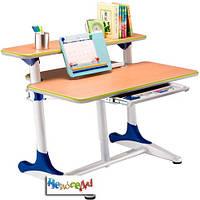 Детский письменный стол Mealux Platon WB Beech с полкой