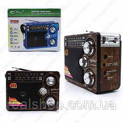 Радиоприемник Pu Xing PX-248LED Brown (Коричневый)