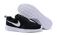 Кроссовки Nike Roshe Run NM Breeze Black реплика ААА+ размер 42 черный