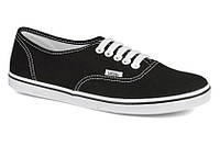 Кеды Vans (Ванс) Authentic™ Lo Pro реплика ААА+ размер 37-40 черный