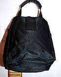 Мужская барсетка текстильная синяя 11*15 см, фото 3