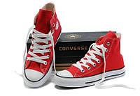 Кеды Converse All Star реплика ААА+ размер 36 красный
