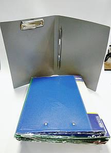 Папка скоросшиватель плюс зажим пластиковая А4