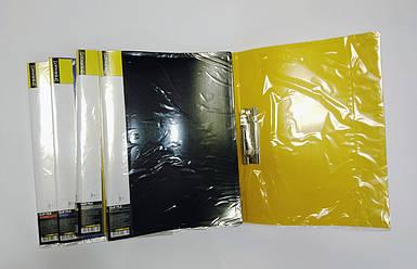Папка с зажимом пластиковая А4