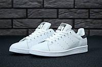 Кроссовки Adidas Stan Smith реплика (натуральная кожа) размер 36-45 белый