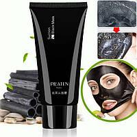 Очищающая черная маска пленка PILATEN SUCTION BLACK MASK  Пилатен от черных точек  . Чистые поры и кожа