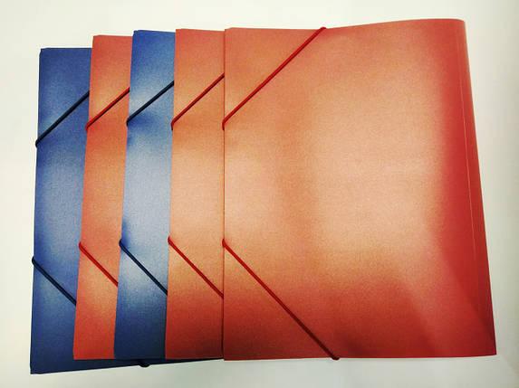 Папка на резинке пластиковая А4, фото 2