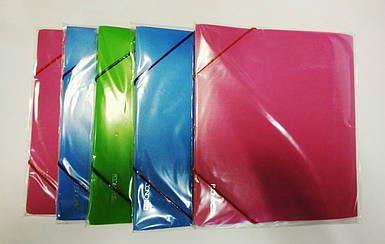 Папка на резинке пластиковая А5