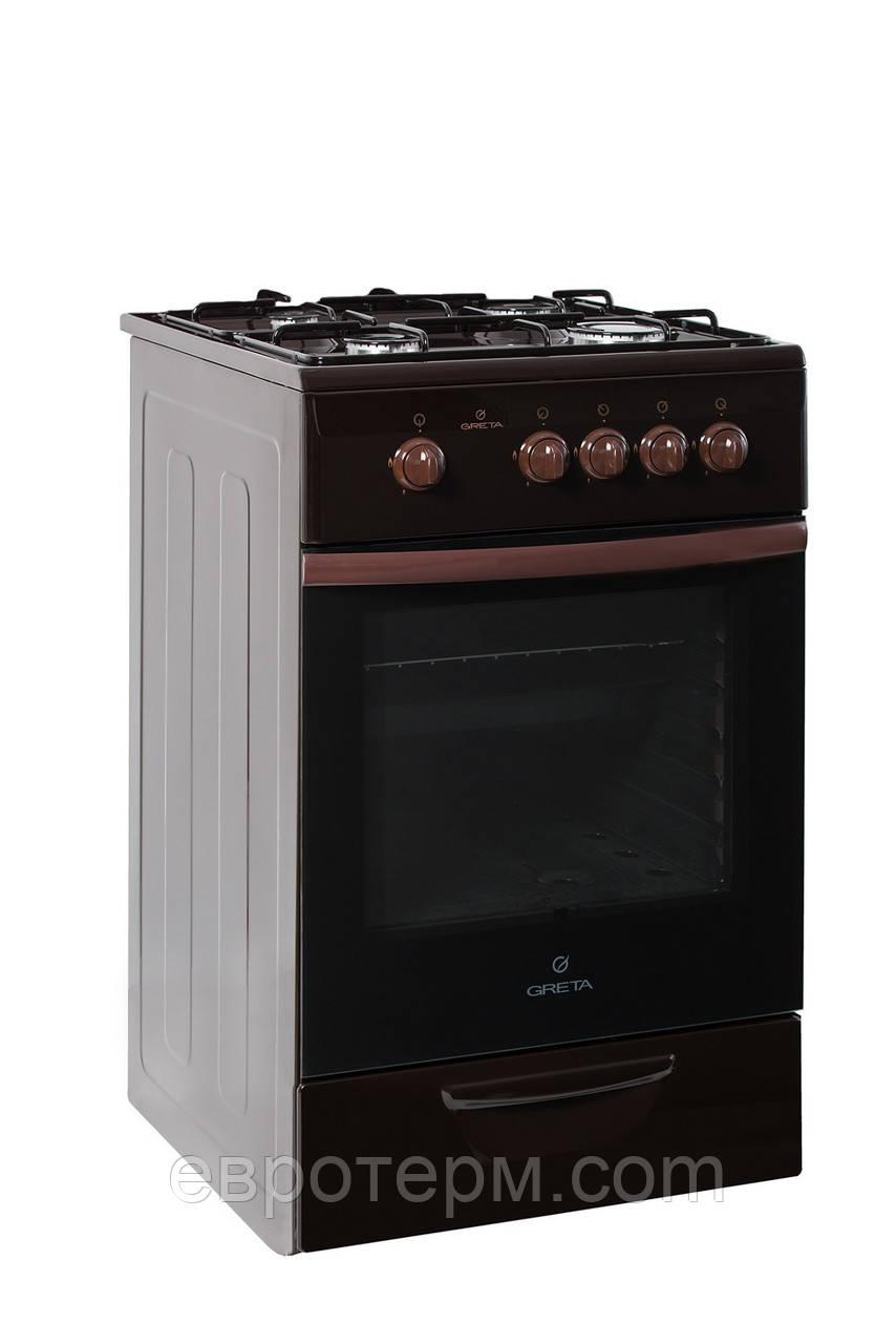Газовая плита GRETA 1470-00-20 BM коричневая