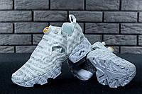 Кроссовки женские Vetements & Reebok InstaPump Fury реплика ААА+ размер 36-40 белый (живые фото)