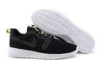 Кроссовки Nike Roshe Run Hyperfuse реплика ААА+ размер 42 черный