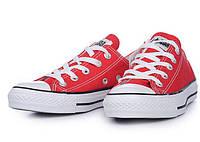 Кеды Converse All Star реплика, размер 37,39 красный