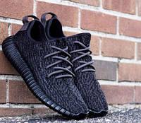 Кроссовки Adidas Yeezy 350 реплика ААА+, размер 39 черный