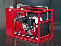 Автономная маслостанция.Гидростанция с бензоприводом.Мобильная гидростанция.Базовая серия HS-1L140M