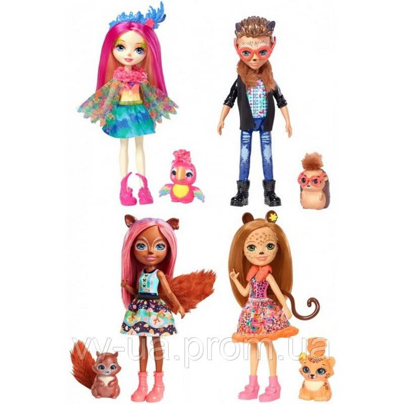 Кукла Enchantimals Друзья главных героинь (в ассортименте) (FNH22)