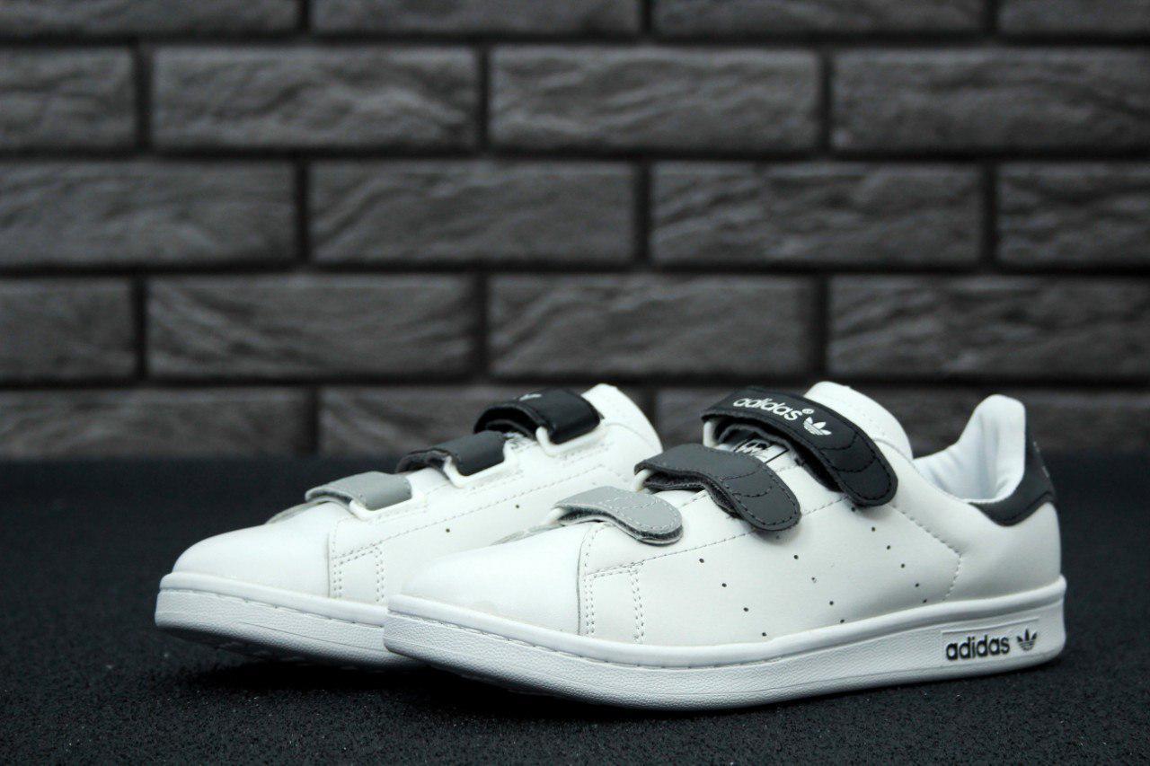 Кроссовки Adidas Stan Smith реплика размер 36-38 белые, фото 1