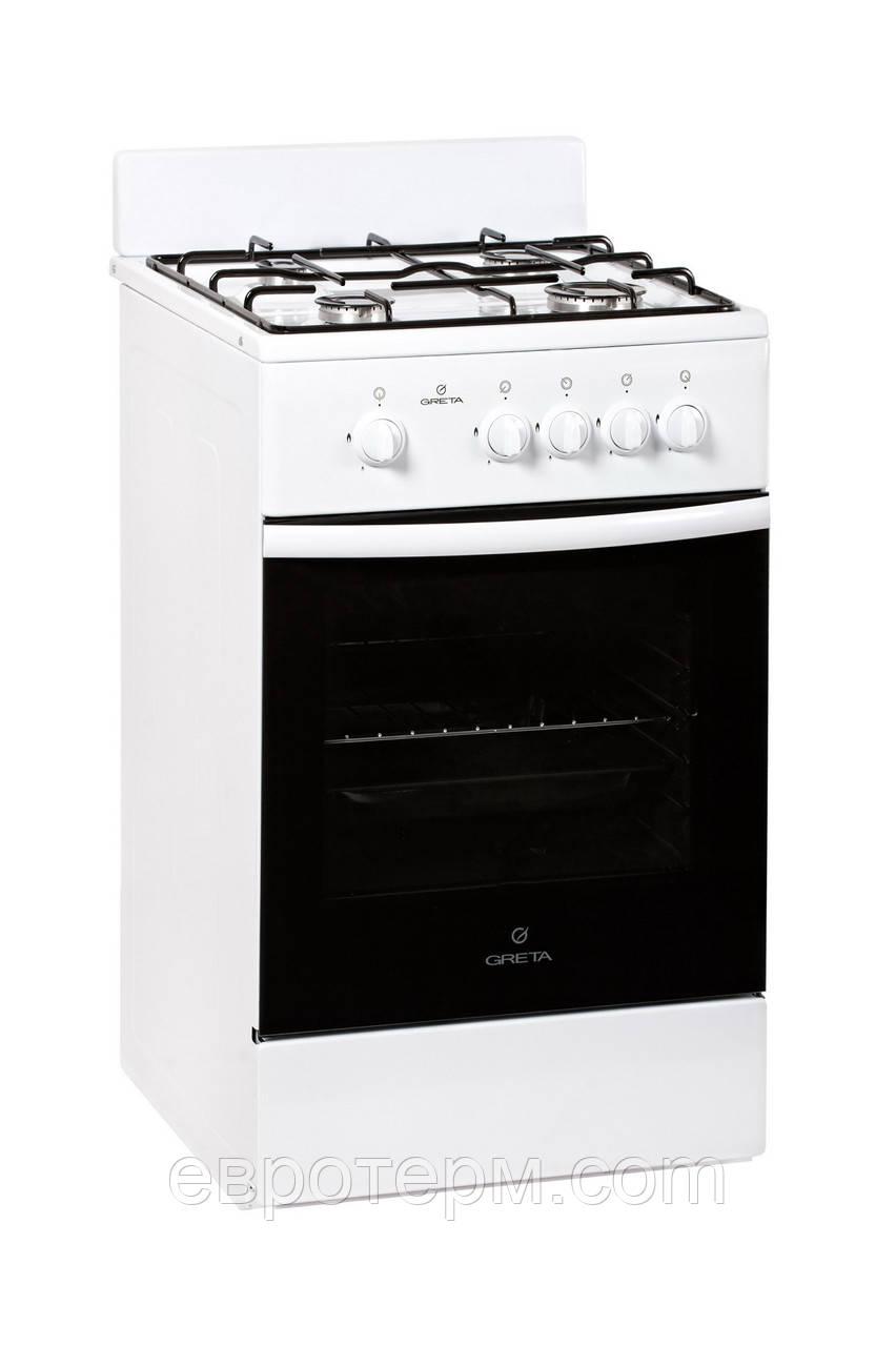 Газовая плита GRETA 1470-00-12 WM белая