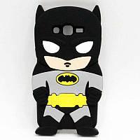 3d Чехол Бампер для Samsung Galaxy J3 2016 / J320  резиновый Бэтмен