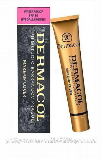 Тональный крем  Dermacol 207 (Реплика)