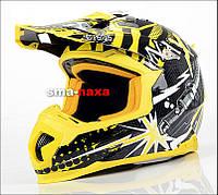 Мотоциклетный шлем NAXA C8/E CROSS QUAD ATV  / S + ОЧКИ