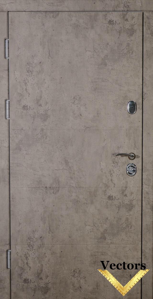 входная дверь белая с зеркалом ALISA VIP+, Very Dveri фото