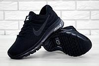 Кроссовки мужские Nike Air Max 2017 реплика ААА+ размер 40-43 черный (живые 6c069aef854