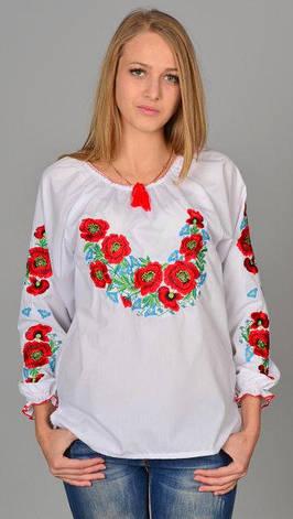 Женская белая вышиванка Роксолана, фото 2
