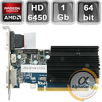 Відеокарта PCI-E Sapphire ATI HD6450 (1GB/DDR3/64bit/VGA/HDMI/DVI) БО