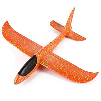 Самолётик летающий трюкач! Оранжевый! На море или активный отдых