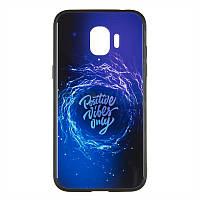 Чехол силиконовый Samsung A8 2018 (A530) Print iPaky Viber
