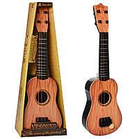 Гитара 898-17-18  54см, струны 4шт, медиатор, в кор-ке, 19-24,5-7,5см