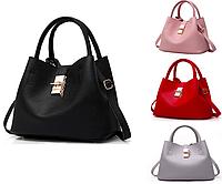 Женская сумка классическая большая с кошельком Melanie