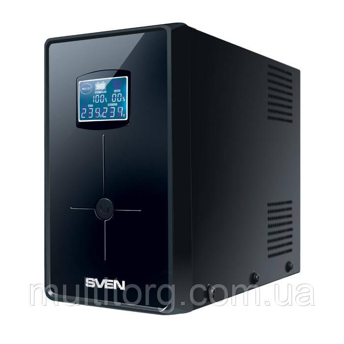 ИБП UPS SVEN Pro+ 1000 (LCD, USB)