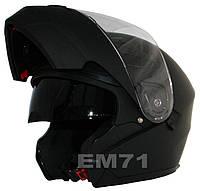 Мотоциклетный шлем NAXA FO3B / M Черный