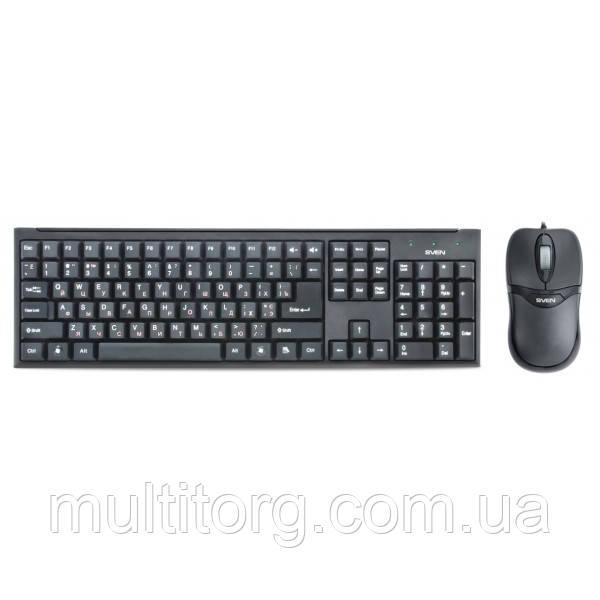 Клавиатура + мышка SVEN Standard 310 combo, USB черная