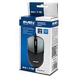 Мышка SVEN RX-112 USB серая, фото 5