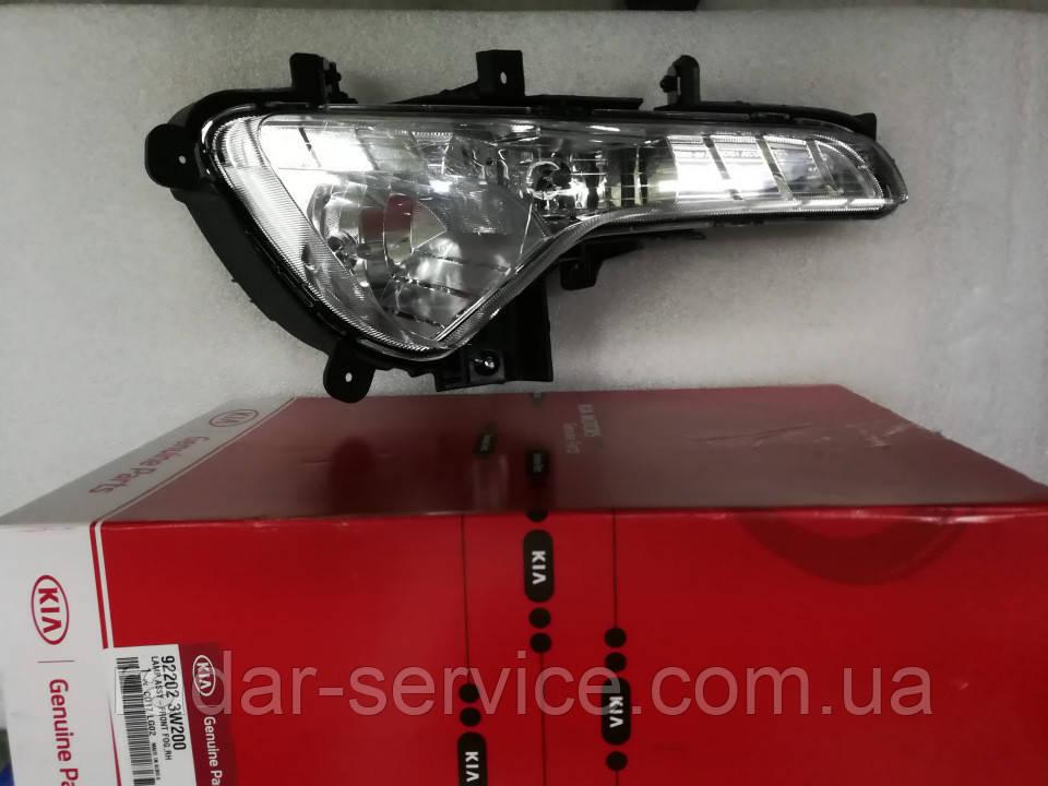 Фара противотуманная правая, KIA Sportage 2010-15 SL, 922023w200