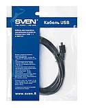 Кабель SVEN USB 2.0 A-microUSB 1.8m, фото 3