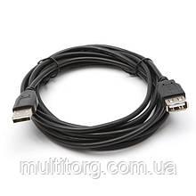 Кабель SVEN USB 2.0 Am-Af (подовжувач) 3.0 m