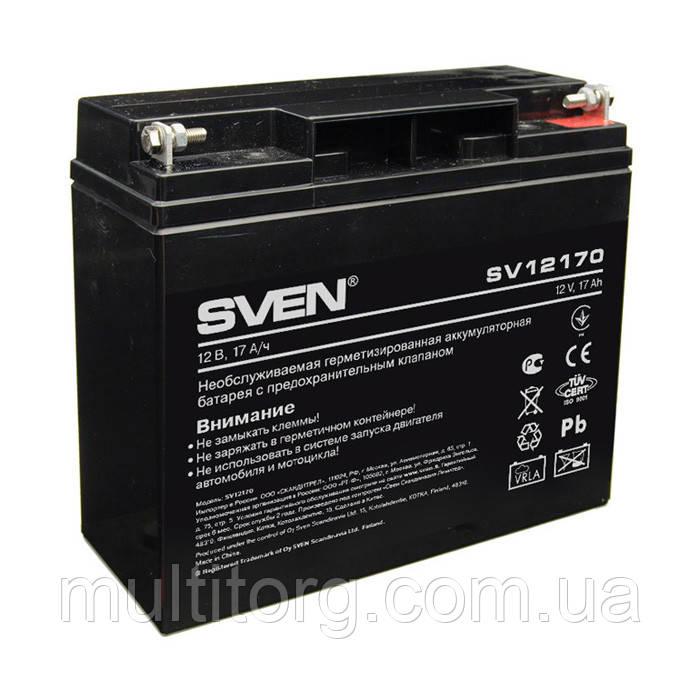 Аккумуляторная батарея SVEN SV12170 (12V 17Ah)