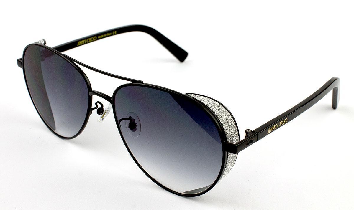 Солнцезащитные очки Jimmy Choo SHEENB-S-6BG-BL