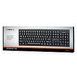 Клавіатура REAL-EL Standard 503 USB чорна, фото 2