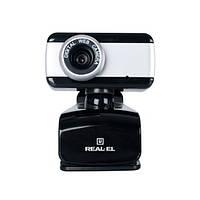 Веб-камера REAL-EL FC-130 с микрофоном, фото 1
